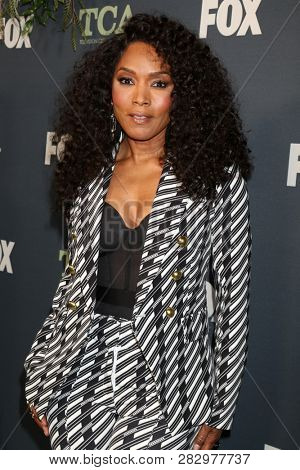 LOS ANGELES - FEB 1:  Angela Bassett at the FOX TCA All-Star Party at the Fig House on February 1, 2019 in Los Angeles, CA