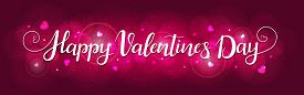 Bright Background For Valentines Day. Illustration In Vector. You Can Use For Greeting Cards, Poster