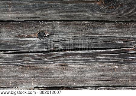 Decrepit Medieval Beaten Backdrop. Coating Of Coarse Split Spotted Battered Background. Old Rotten D