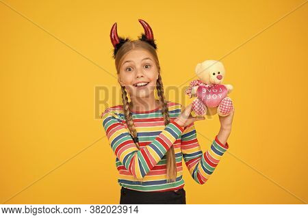 Small Demon. Playful Demon Girl. Little Demon Inside. Girlish Temper. Cute But Dangerous. Halloween