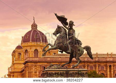 Erzherzog Karl Memorial - Vienna Austria