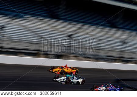 August 21, 2020 - Indianapolis, Indiana, USA: FERNANDO ALONSO (66) of Oviedo, Spain  practices for the Indianapolis 500 at the Indianapolis Motor Speedway in Indianapolis, Indiana.