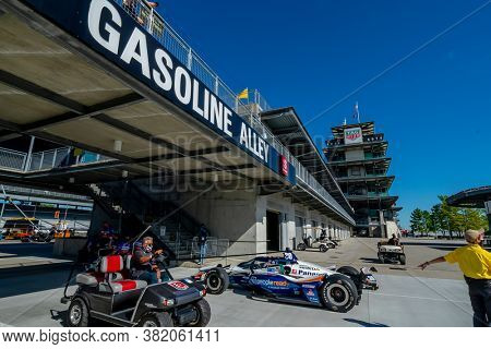 August 21, 2020 - Indianapolis, Indiana, USA: ED CARPENTER (20) Of the United States  prepares to practice for the Indianapolis 500 at the Indianapolis Motor Speedway in Indianapolis, Indiana.