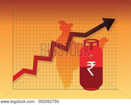 Lpg Gas Cylinder Price Hike In India, Cooking Gas, Lpg Subsidy,  Liquefied Petroleum Gas, Price Incr