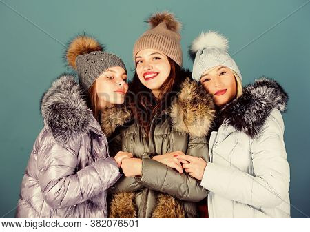 True Embraces. Girls In Beanie. Flu And Cold. Seasonal Shopping. Happy Winter Holidays. Friendship.
