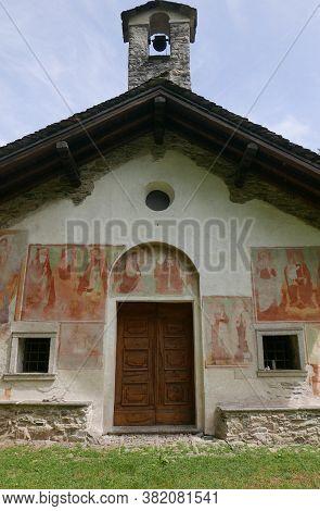 Church Of Santa Maria Di Luzzara In Gozzano, Piedmont, Italy