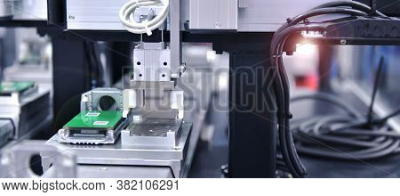 Electronic Circuit Board Production In Machinery And Technology