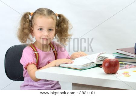 Nice Girl With The Book