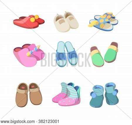 Footwear Colored. Textile Soft Slippers Hotel Room Accessories Fashioned Comfort Home Sandals For Ma