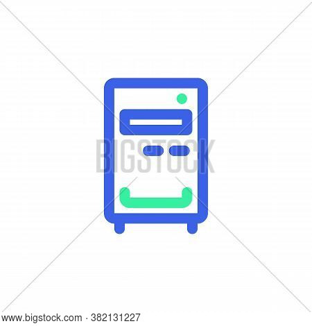 Pc Case, Workstation Line Icon. Linear Style Sign For Mobile Concept And Web Design. Computer Case O