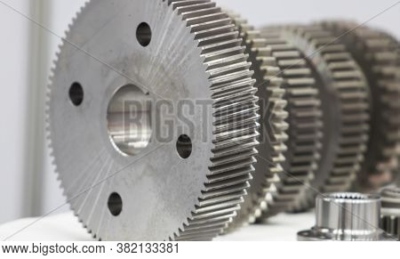 Industrial Gear Spare Parts For Heavy Machine ; Close Up