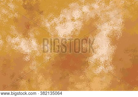 Golden Foil Digital Vector Texture. Shiny Gold Background. Precious Metallic Digital Backgrop. Luxur