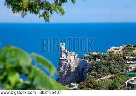 Swallows Nest Castle Near The Black Sea