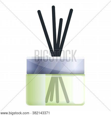 Essential Oil Diffuser Icon. Cartoon Of Essential Oil Diffuser Vector Icon For Web Design Isolated O