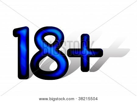Age limit sign