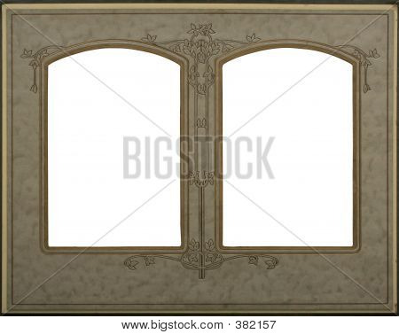 Victorian Frame  With Double Windows