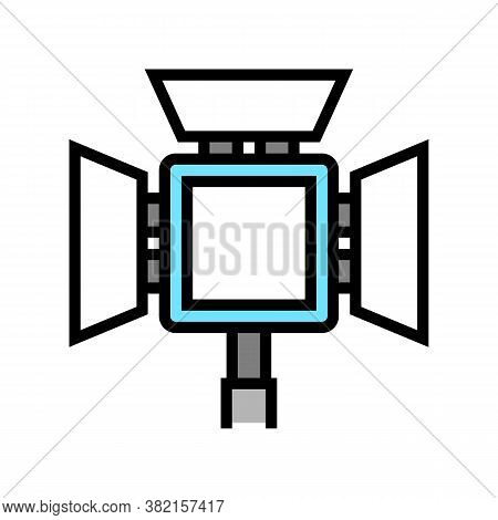 Lightbox Photography Equipment Color Icon Vector. Lightbox Photography Equipment Sign. Isolated Symb