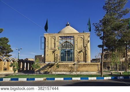 Kashan / Iran - 05 Oct 2012: The Ancient Tomb In Kashan, Iran