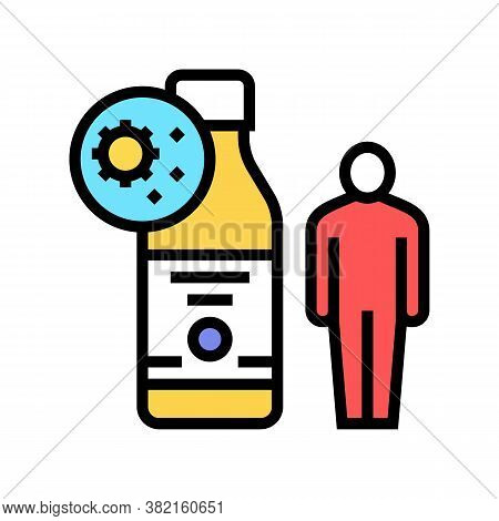 Syrup Health Treatment Color Icon Vector. Syrup Health Treatment Sign. Isolated Symbol Illustration