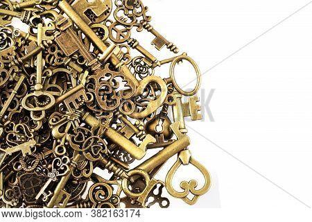Old Vintage Keys Texture