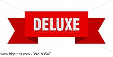 Deluxe Ribbon. Deluxe Paper Band Banner Sign