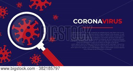 coronavirus . coronavirus banner . coronavirus background. coronavirus design, coronavirus concept. Coronavirus 2019-nCov novel coronavirus concept responsible for asian flu outbreak and coronaviruses influenza. Dangerous pandemic flu cases coronavirus st