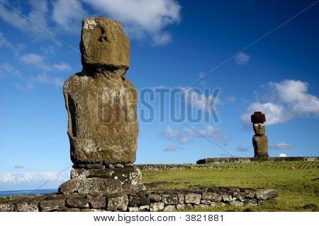 Ahu Tahai - Hanga Roa - Rapa Nui - Easter Island - Chile