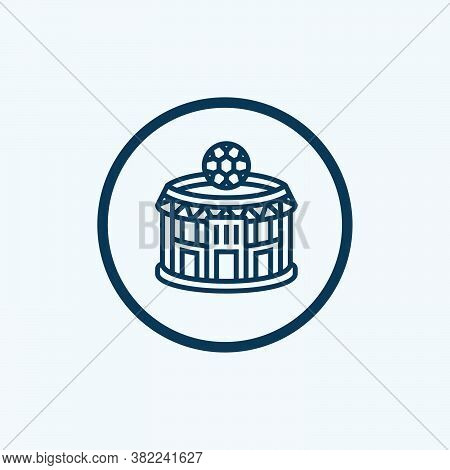 Stadium Icon Isolated On White Background From Baseball Collection. Stadium Icon Trendy And Modern S