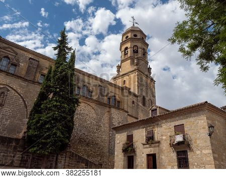 Photograph Of The Baeza Cathedral In The Province Of Jaen, Andalusia, Spain