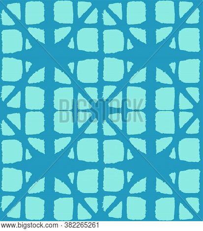 Japanese Tie Dye Seamless Pattern. Elegant Kimono Textile. Premium Japanese Clothes Pattern. Deco Sh