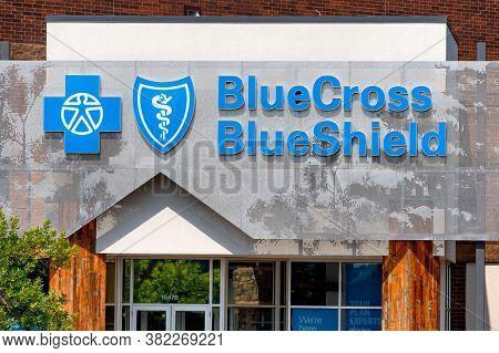 Bluecross Blueshield Medical Clinic And Trademark Logo