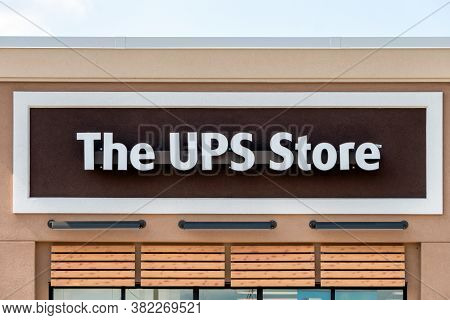 The Ups Store Exterior And Trademark Logo