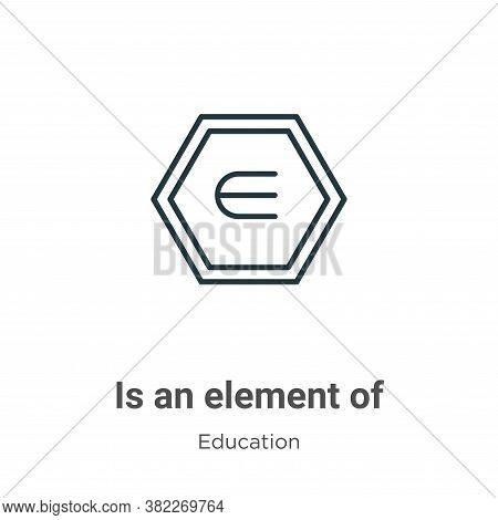 Is an element of symbol icon isolated on white background from education collection. Is an element o