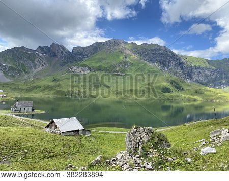 Traditional Rural Architecture And Family Livestock Farms Of The Uri Alps Mountain Massif, Melchtal