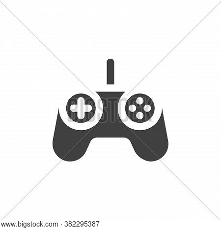Game Controller Vector Icon. Filled Flat Sign For Mobile Concept And Web Design. Gamepad Controller