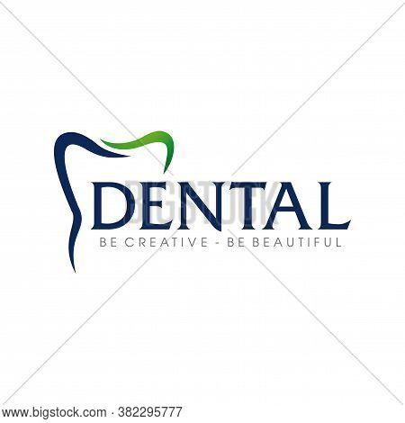 Dental Logo, Dental Care Logo Design Vector