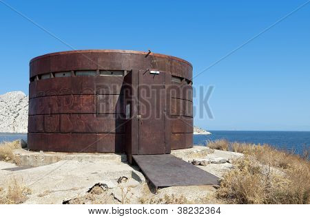 Camera Obscura structure in Greece