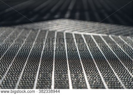 Close Up Of A Metal Floor Grille For Backgrounds