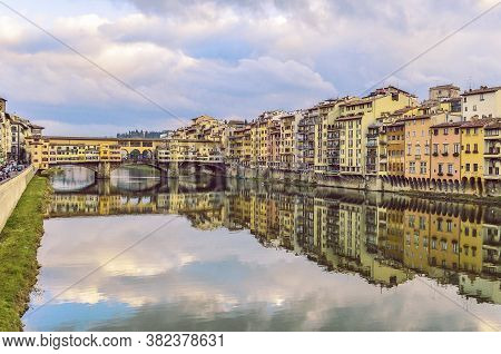 Another Great View Of The Beautifull Bridge From Florence