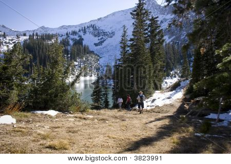 Hike To Red Pine Lake