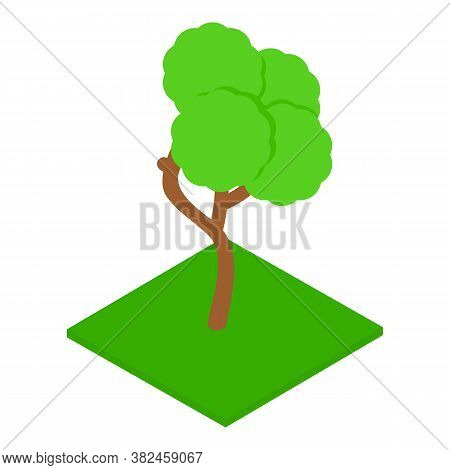 Landscaping Icon. Isometric Illustration Of Landscaping Vector Icon For Web