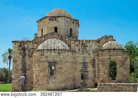 Ruins Of A Small Christian Chapel In The City Of Famagusta, Northern Cyprus.