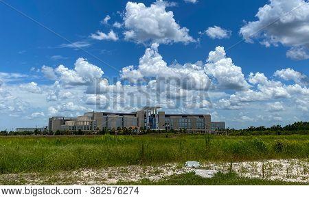 Orlando, Fl/usa-7/1/20: The Orlando Va Medical Center. Veterans Affairs Hospitals Are Part Of The Un