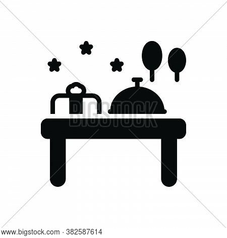 Black Solid Icon For Occasion Opportunity Occasion Chance Time Eventuality