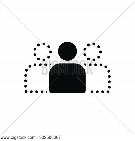 Black Solid Icon For Obvious Evident Manifest Accessible Clear Conspicuous Discernible Evident