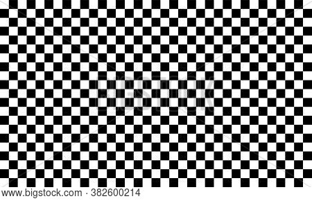 Checkered Flag. Racing Flag Isolated On White. Checker Background. Race Background. Eps 10