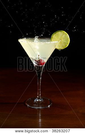 Splushing Margarita Cocktail