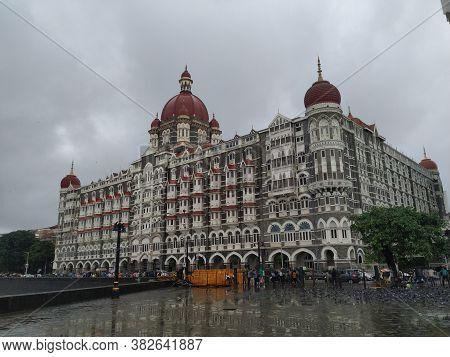 Mumbai, Maharastra/india- June 13 2020: One Of The Best Luxury Hotel In India- Taj Mahal Palace In M