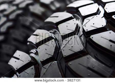 Black Tyre Macro
