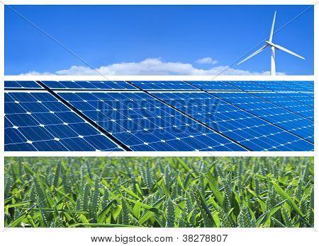 Renewable Energy Banners